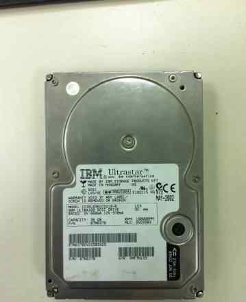 HDD scsi IBM Ultrastar 36Gb