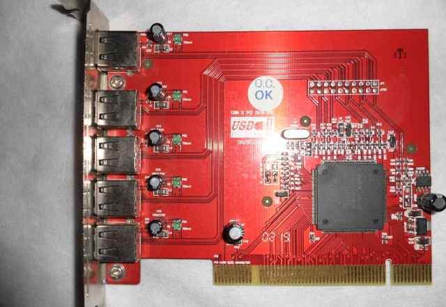 USB контроллер для системного блока