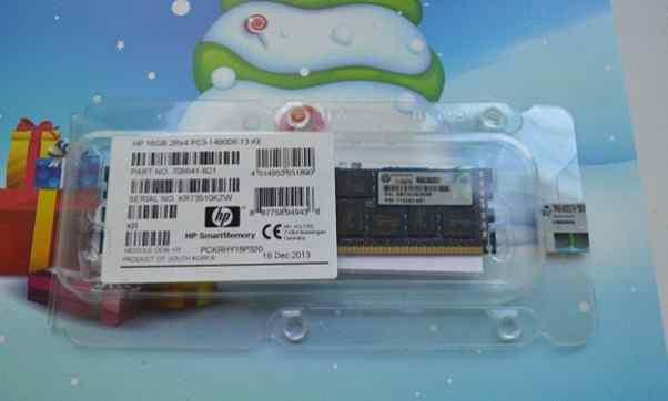 Серверная память HP 16GB PC3-14900R-13 708641-B21