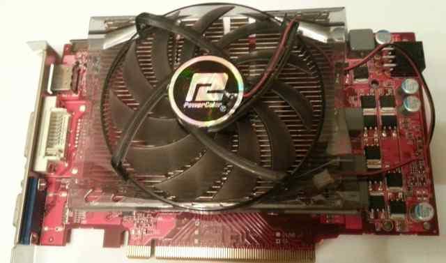 Power Color HD 5770 1Gb, gddr5