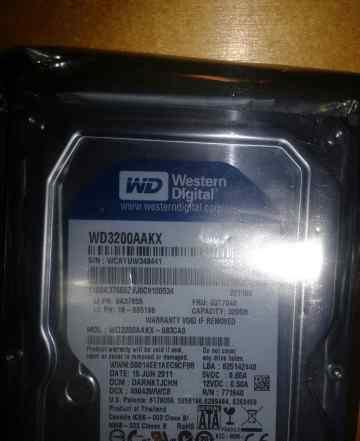 Жесткий диск wd3200aakx