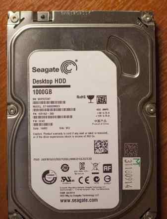 Жесткий диск HDD Seagate ST1000DM003 1000 гб