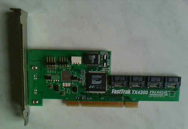 Raid контроллер FastTrak TX4200 Promise