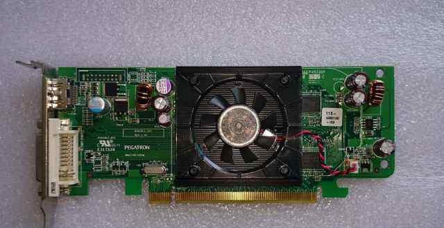 ATI radeon HD3450 256MB PCI-express dell F343F