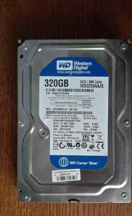 Жесткий диск HDD 3.5 WD Caviar Blue -320 Gb