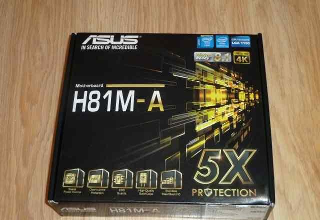 Asus H81M-A soket 1150 mATX новая