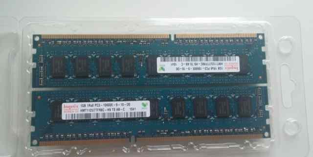 Hunix DDR3 1333mhz ECC 6 планок по 1gb. для сервер