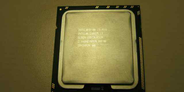 Intel Core i7-920, 2.66 GHz. LGA1366