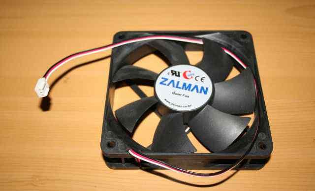 Вентилятор для корпуса 120 мм zalman quiet fan