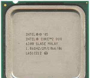 Процессор Intel Core 2 Duo 6300 1.86 GHz