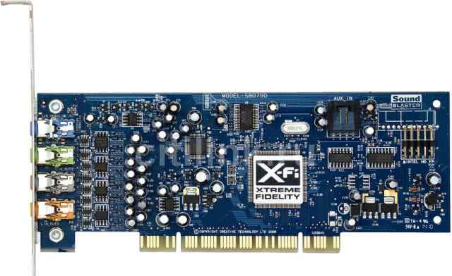 Creative X-Fi Xtreme Audio SB0790