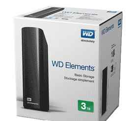 WD 3 TB USB 3.0 Elements Desktop HDD жесткий диск