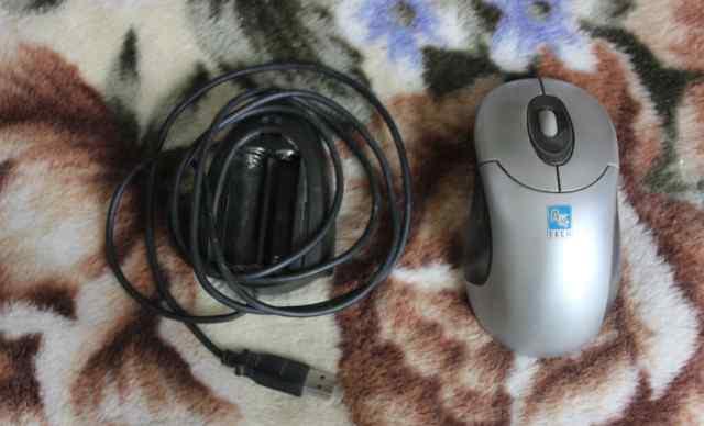 Мышь A4tech wireless optical 3D