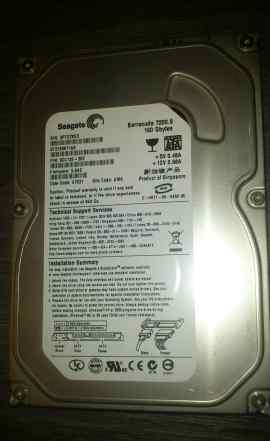 Жесткий диск HDD SATA 160Gb Seagate