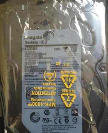 Жесткий диск Seagate Desktop HDD 4000 gb