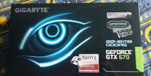 GeForce GTX670 GV-N670OC-2GD