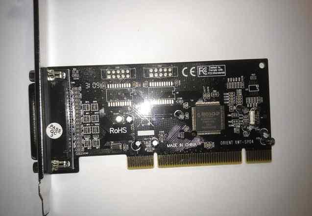 LPT контроллер в PCI слот orient XWP-SP04