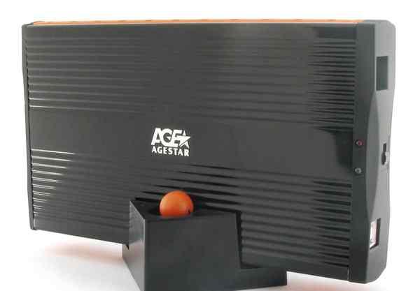 Внешний корпус AgeStar IUB3A (black) для 3.5 IDE