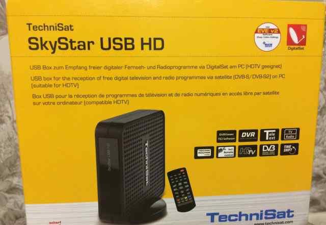 Цифровой спутниковый приемник SkyStar USB HD