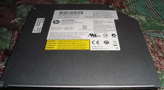 DVD/CD-RW привод для HP (Hewlett Packard)