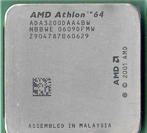 AMD Athlon 64 3200+ ADA3200DAA4BW Socket 939