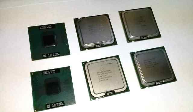 Процессоры S775 и S478