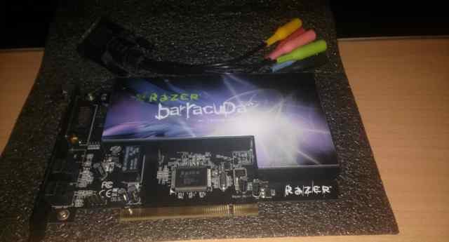 Razer Barracuda AC-1 (Легендарная игровая, редкая)