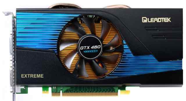 Видео-карта GeForce GTX 460 Extreem