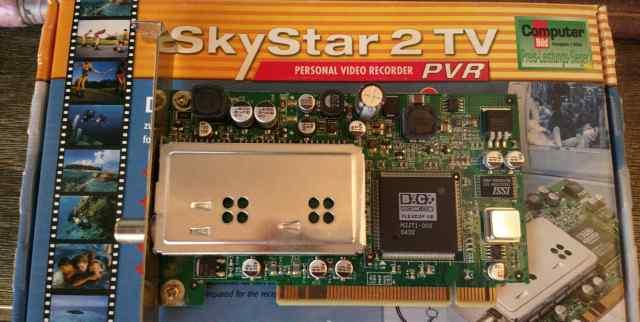 Спутниковый тюнер TechniSat SkyStar 2 PCI
