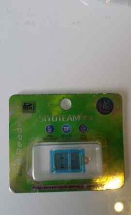 USB картридер для карт microSD
