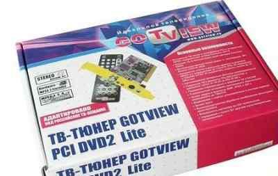 Тв-тюнер Gotview PCI DVD2 lite + FM тюнер