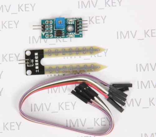 Arduino Датчик влажности почвы на LM393