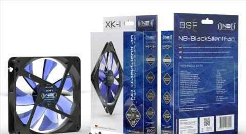 Кулер для пк noiseblocker BlackSilentFan XL1