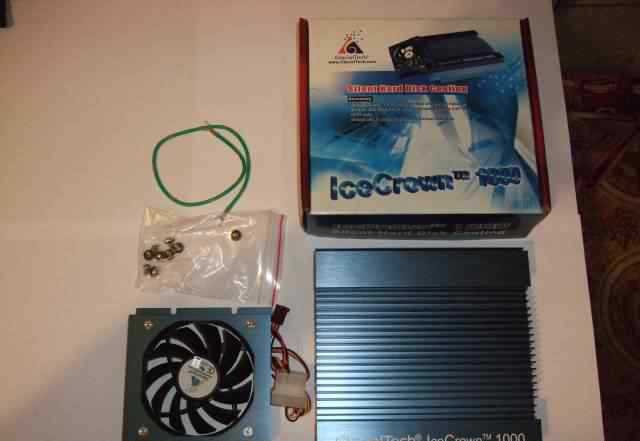 Охлаждение для hdd GlacialTech Ice Crown 1000