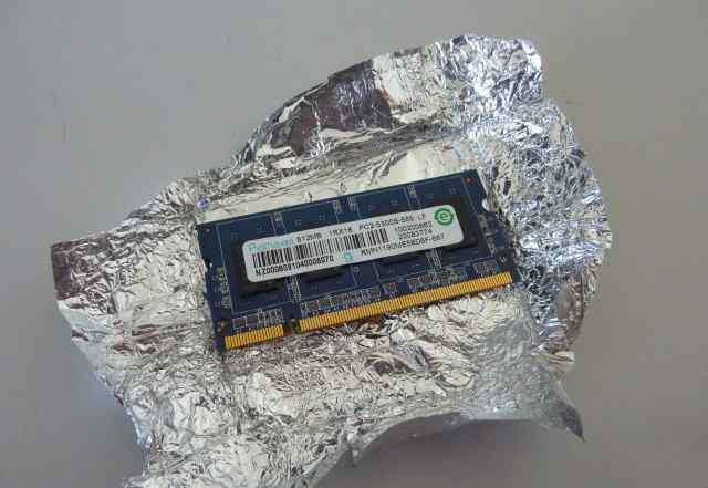 Планка памяти 512 мб для ноутбука