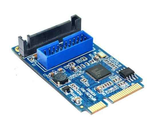 Mini PCI-e контроллер USB3.0