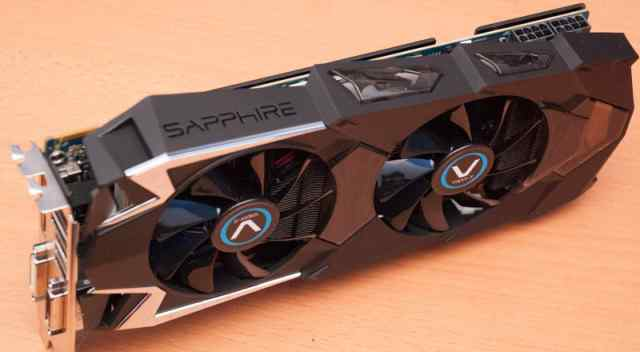 Sapphire Vapor-X Radeon R9 280X 3072 мб