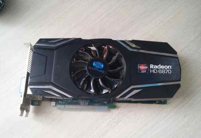 Sapphire AMD Radeon HD 6870 1Gb