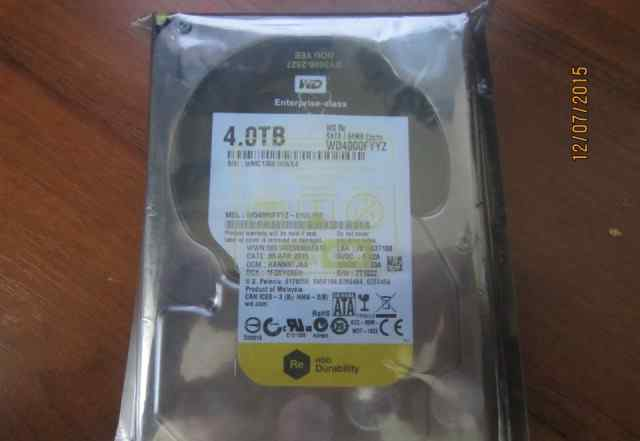 Жесткий диск 4.0 TB