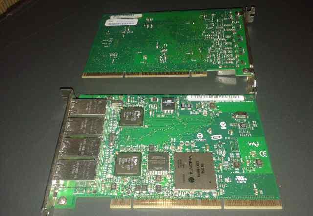Сетевая плата Intel PRO/1000MT Quad-Port