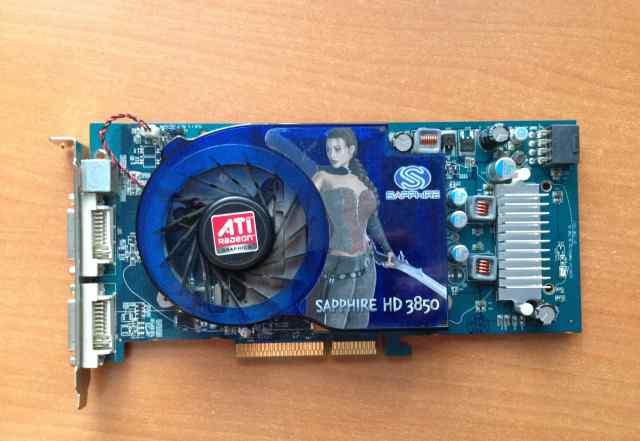 Видеокарта Sapphire Radeon HD 3850 AGP 512Mb DDR3