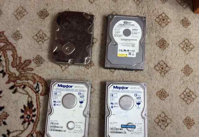 4 жестких диска