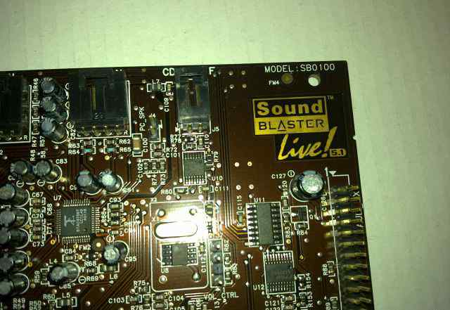 Звуковая карта Creative Sound Blaster live 5.1