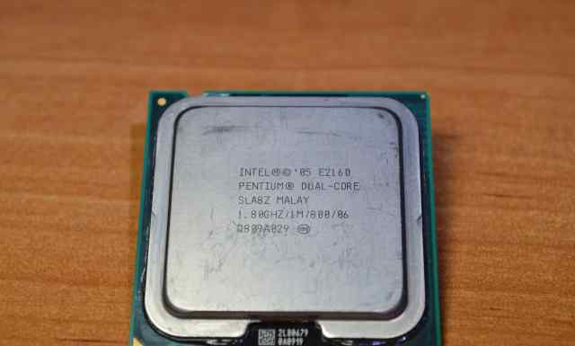 Intel Dual-Core E2160, Conroe, 1.8GHz, LGA775