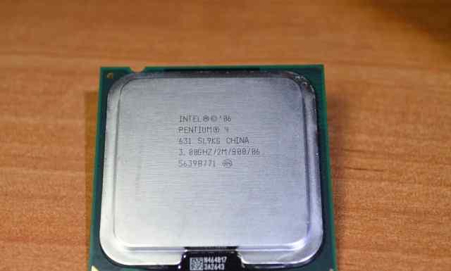 Intel Pentium 4 631, Cedar Mill, 3.0GHz, LGA775