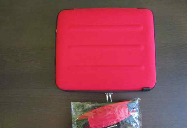Красный чехол для ноутбука 10 дюймов