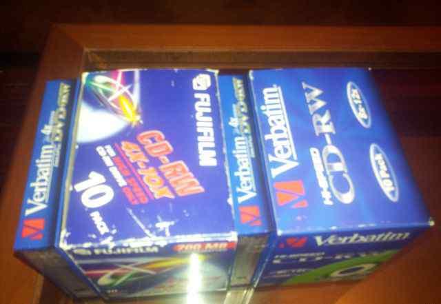 Диски Verbatim CD-RW, CD-DVD-80шт