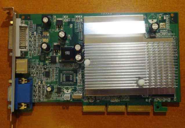 Inno 3D NVidia FX5500 AGP 256Mb/128 bit, новая