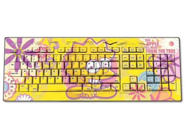Клавиатура и мышь Симпсоны