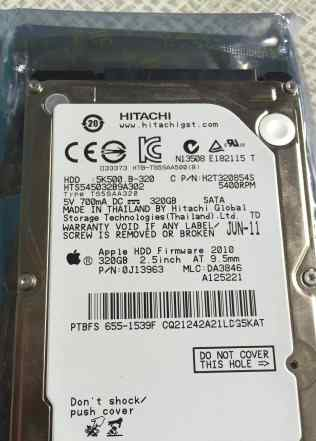 Hitachi 5K320-320gb